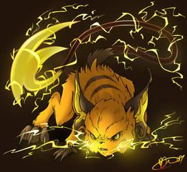 Pokemon - 026 Raichu