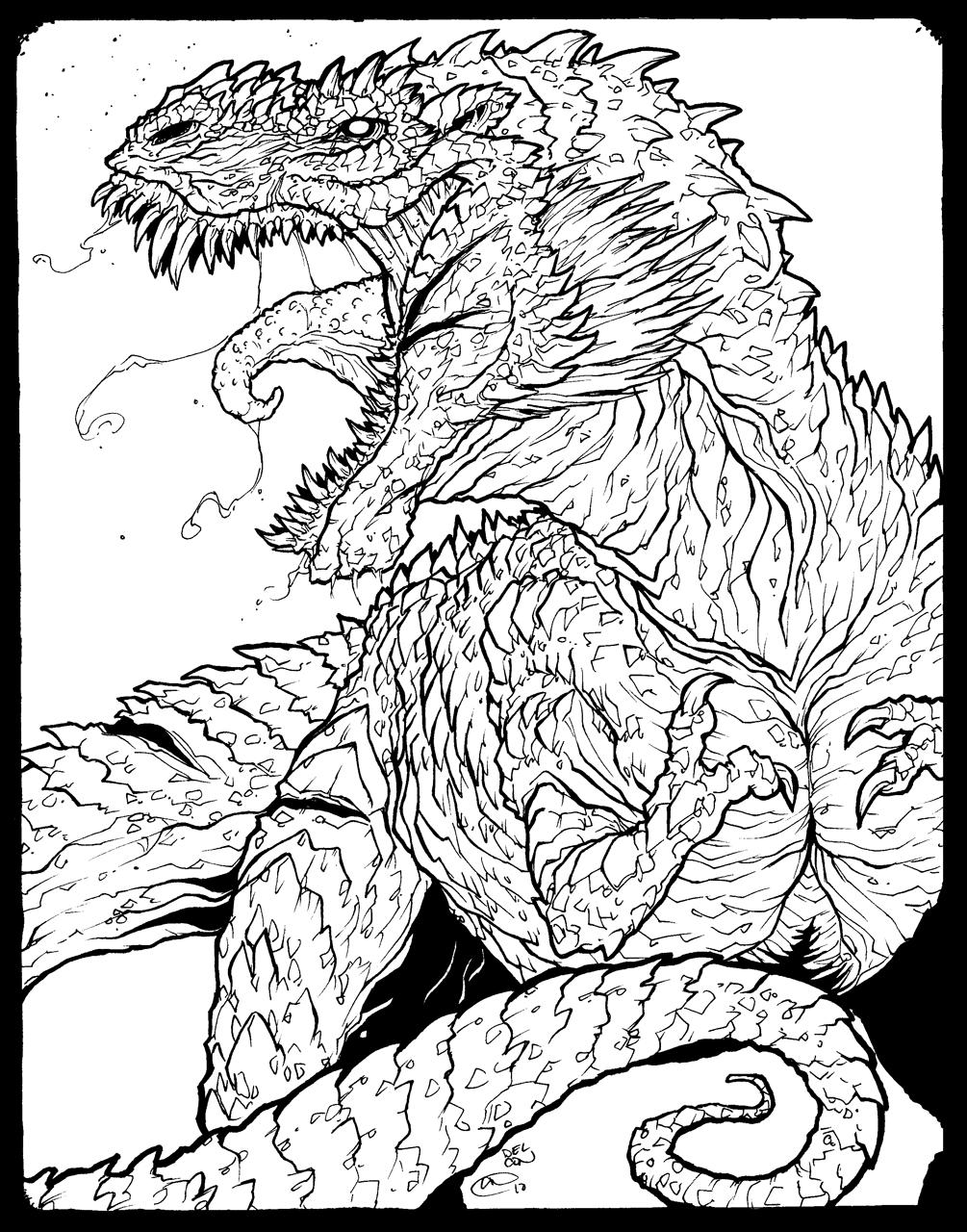 lines tyrannosaurus rex by bhs archetyperex on deviantart