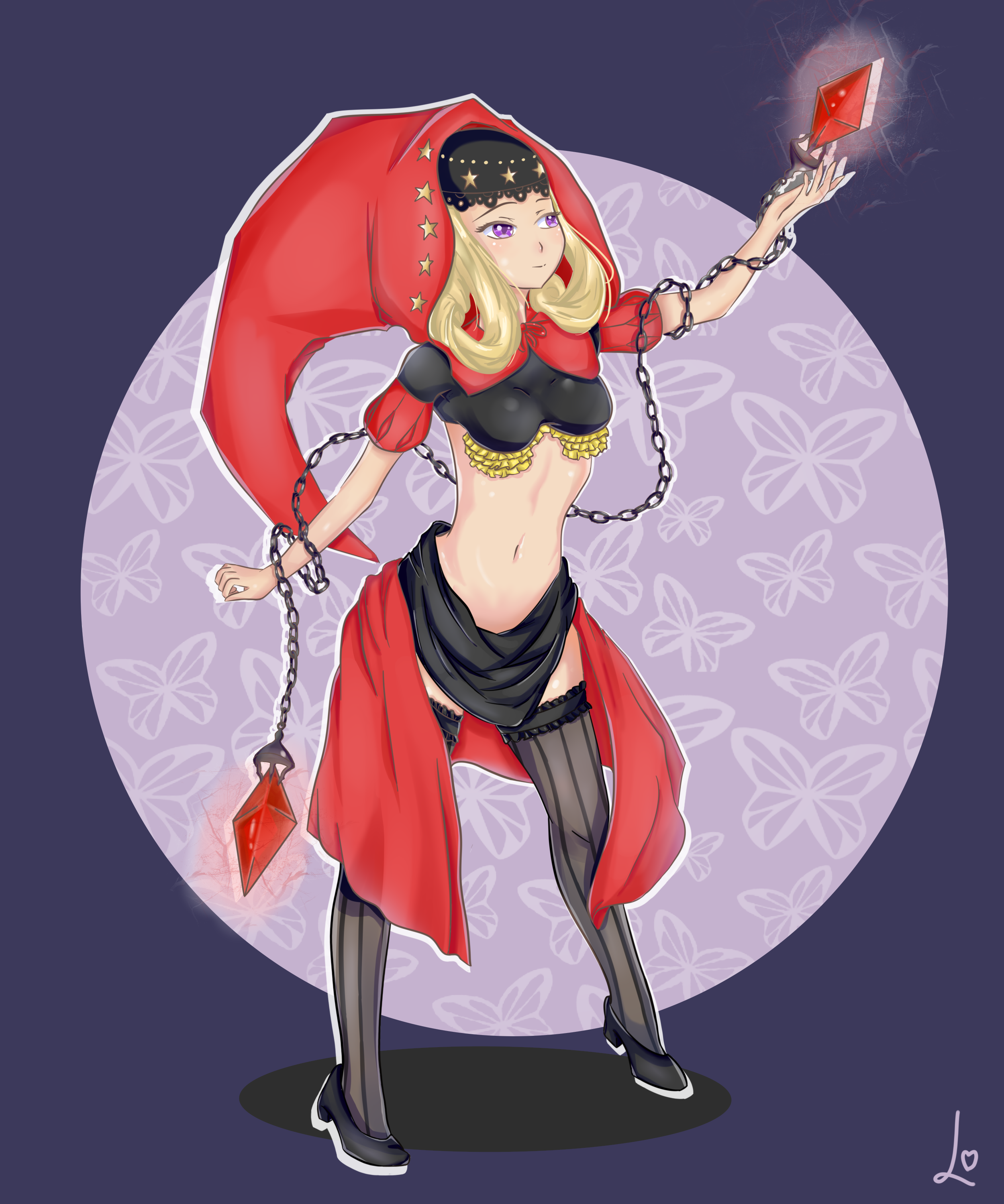 Velvet The Witch Of Elrit Odin Sphere Fanart By Lunyanyu
