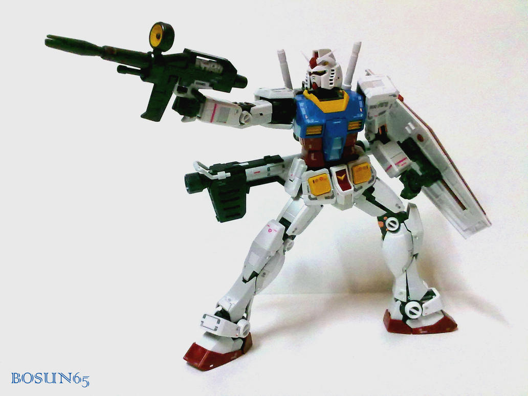 RX-78-2 Beam rifle by Benbella-Marzahan