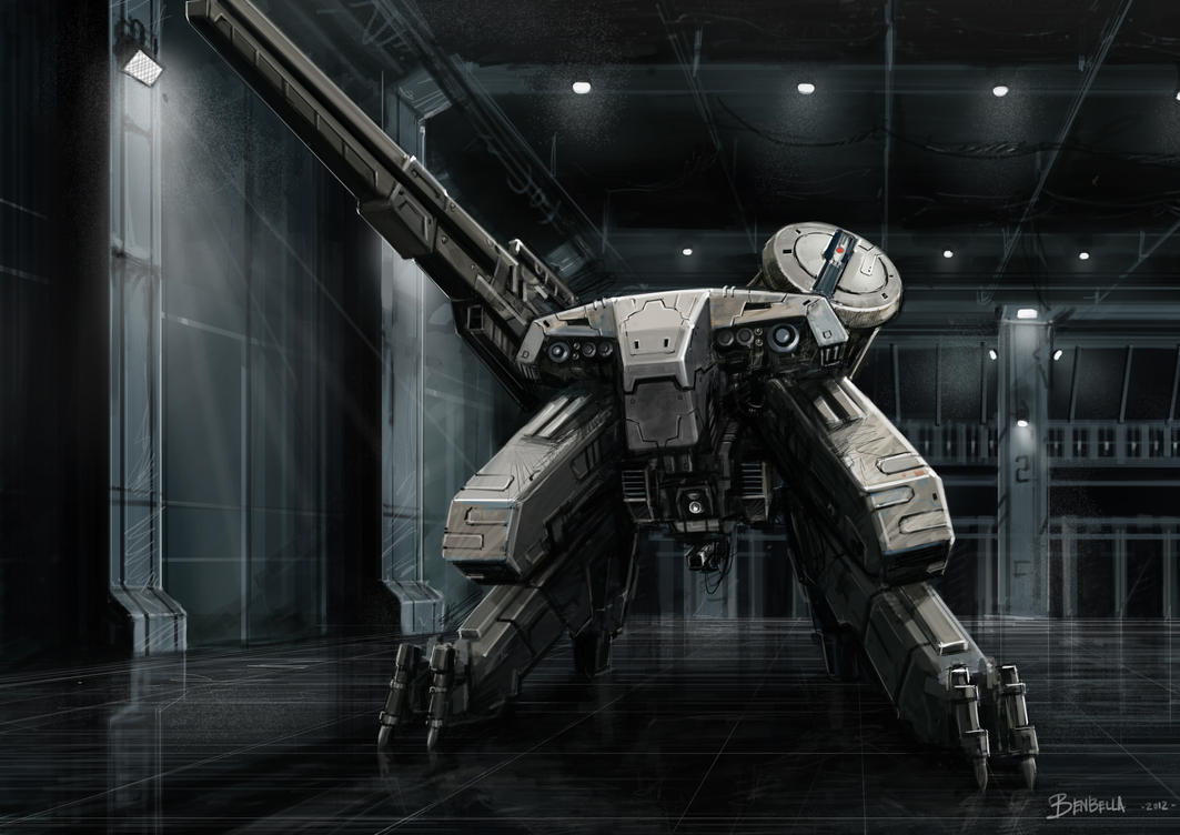 Metal Gear Rex by Benbella-Marzahan