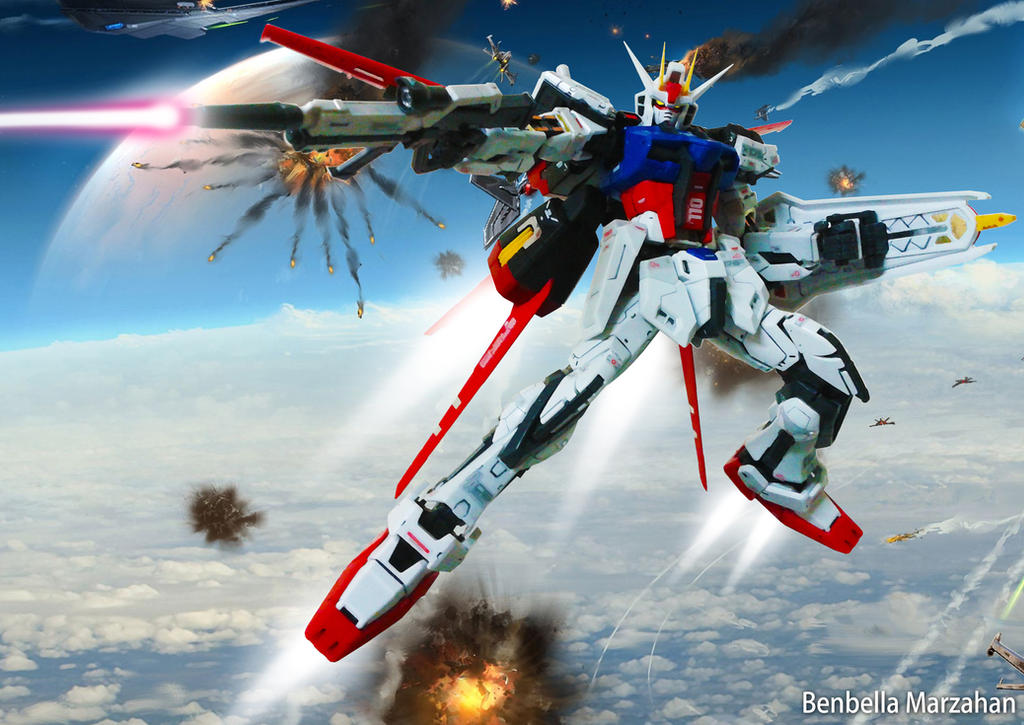 Aile Strike Gundam RG 1/144 by Benbella-Marzahan