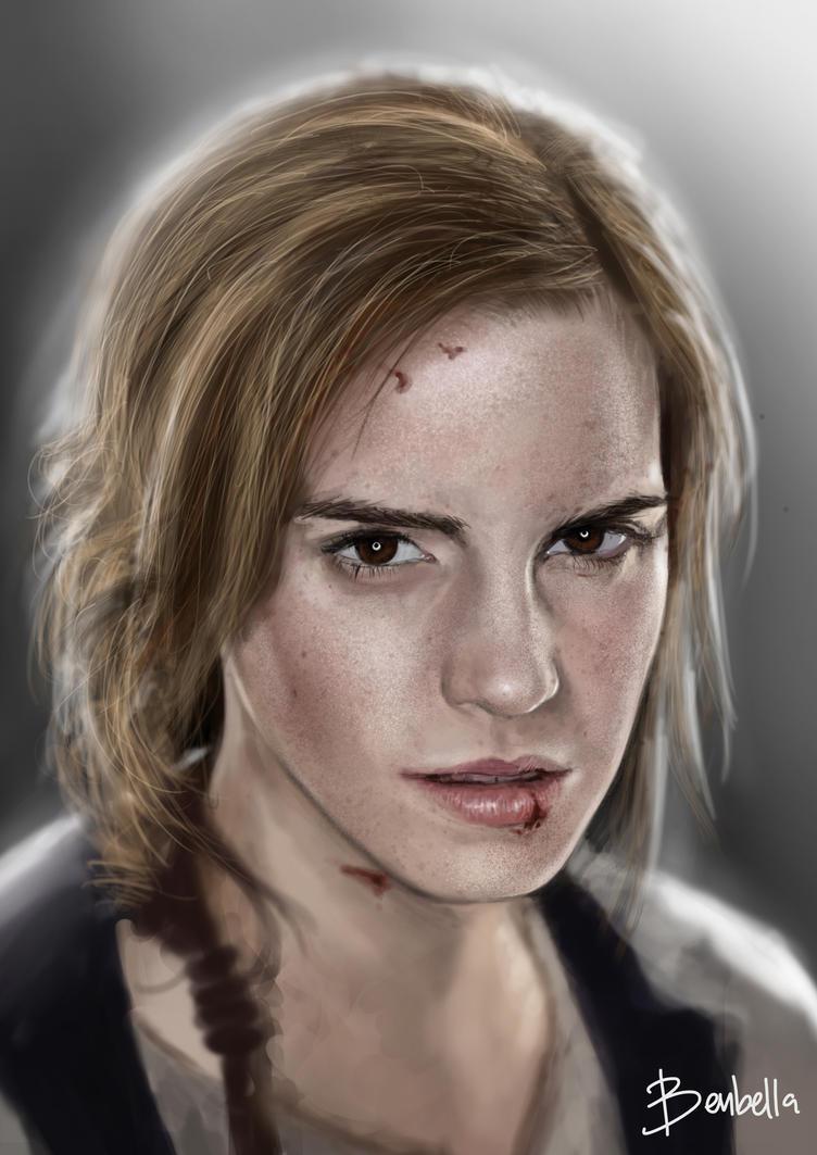 Emma Watson by Benbella-Marzahan