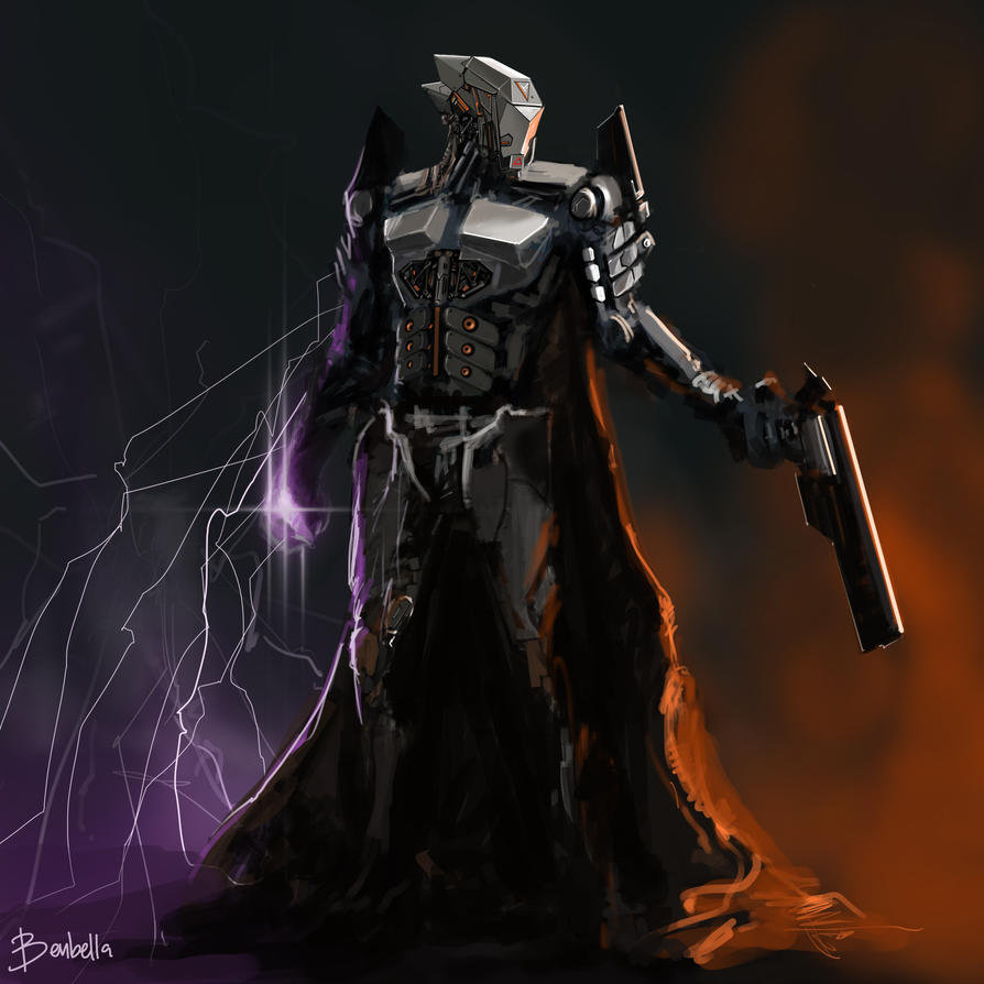 Revolver Ocelot's exoskeleton by Benbella-Marzahan