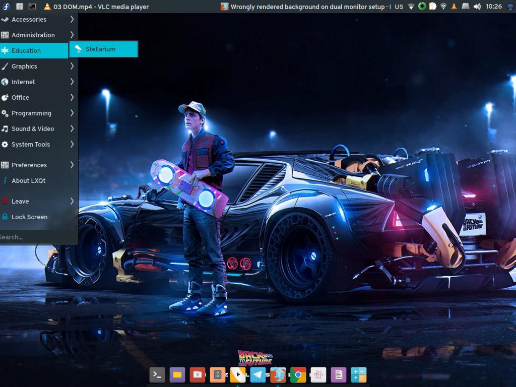 Adapta-LXQt panel theme by glacto