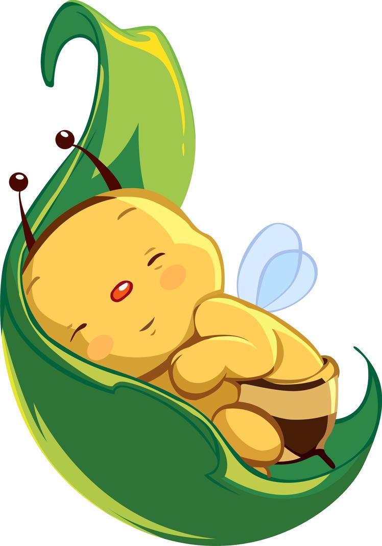 cute baby bee by asoulofanartist on DeviantArt