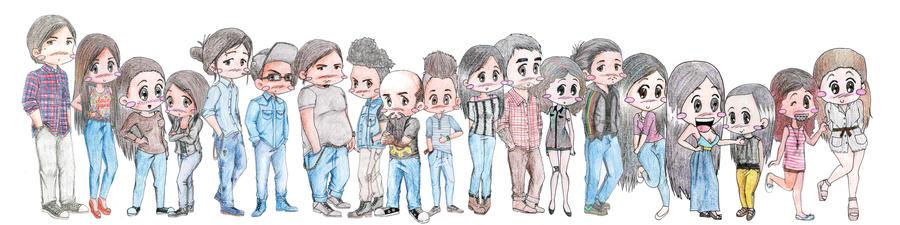 Creative Team by asoulofanartist