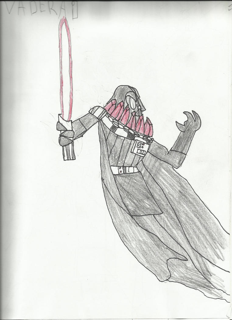 DARTHVADER AS A DARKRAI by elicario