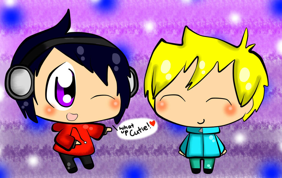 SP - PC - Flana and Butters by TweekPark