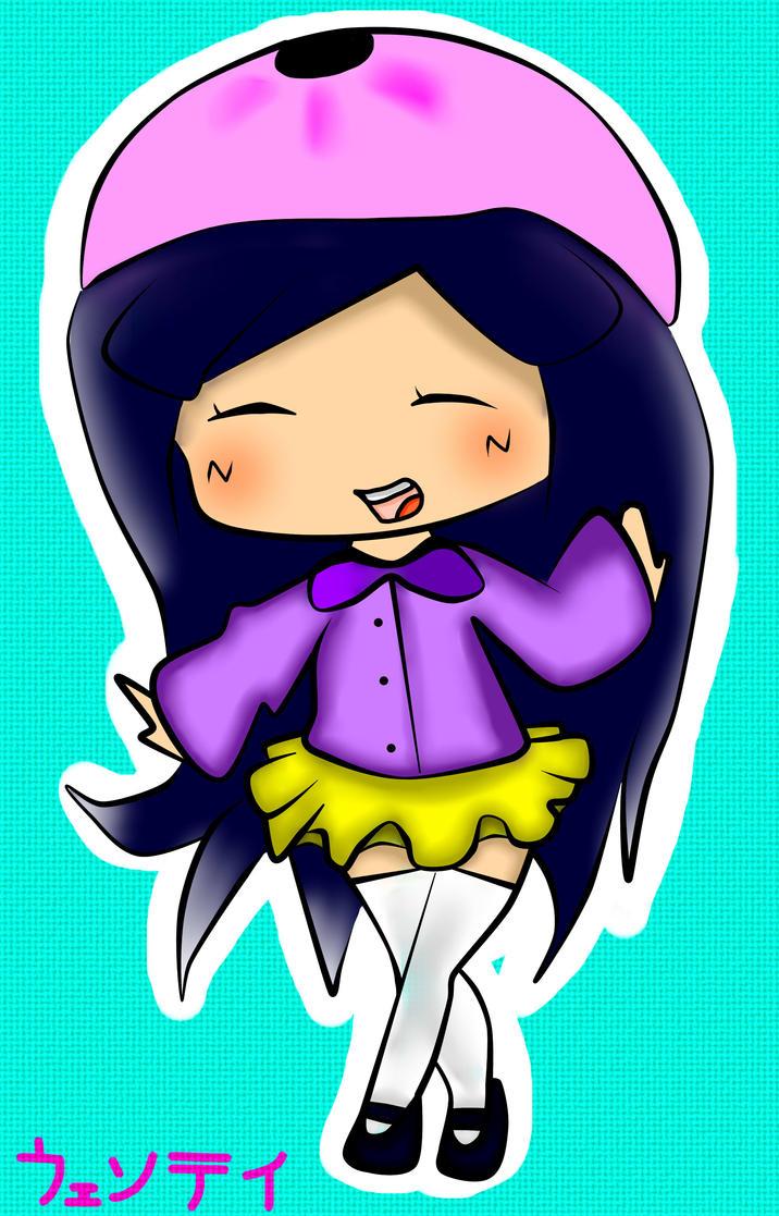 SP - Non Chibi Wendy by TweekPark