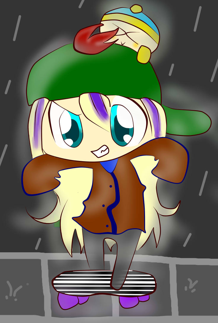 SP - PC - Stevie and Cartman in rain by TweekPark
