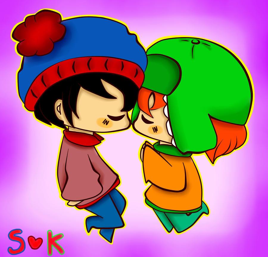 SP - Stan and Kyle by TweekPark