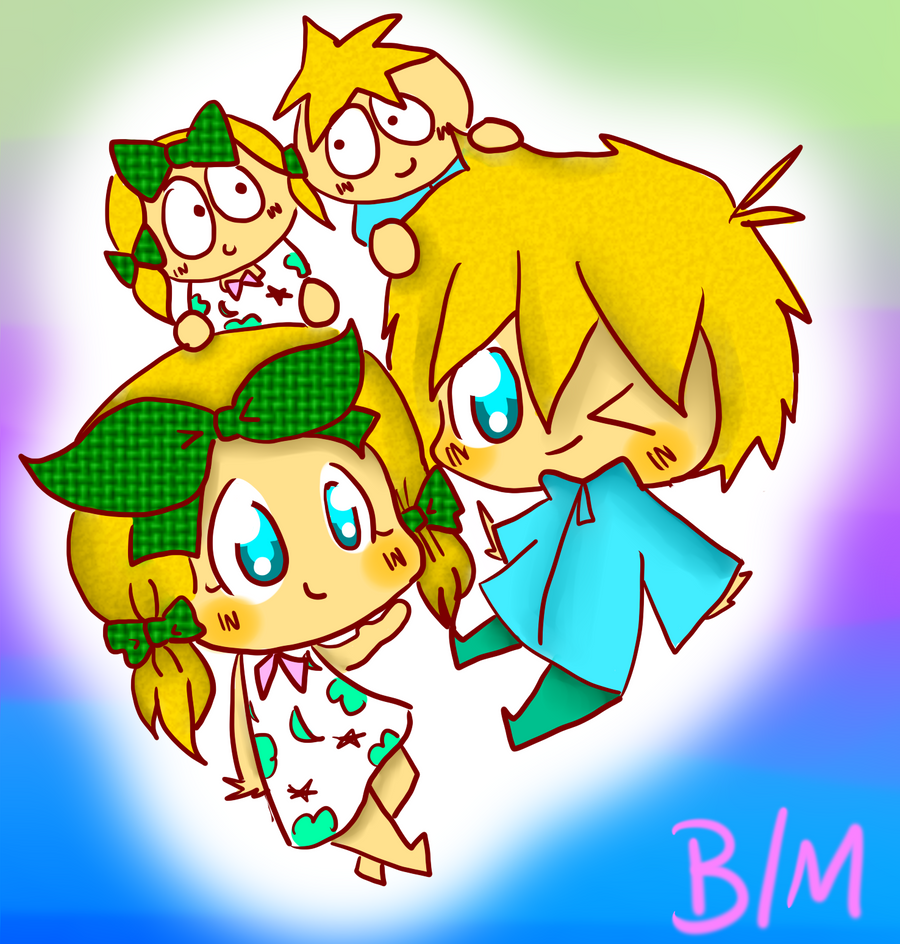 SP - Marjorine and Butters by TweekPark