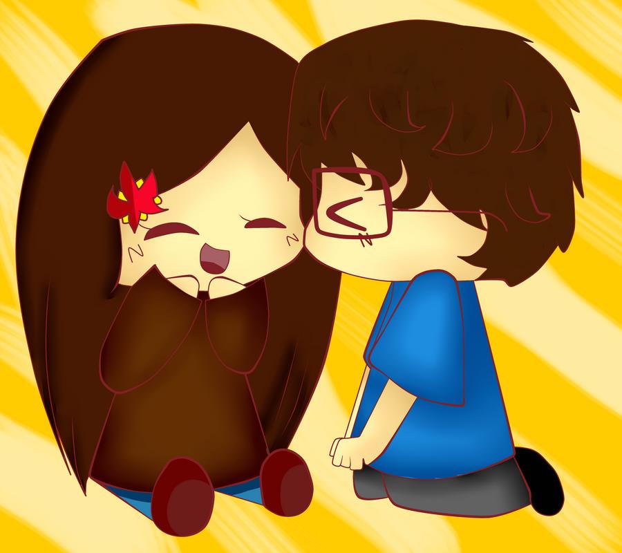 PC -  Her and her boyfriend by TweekPark
