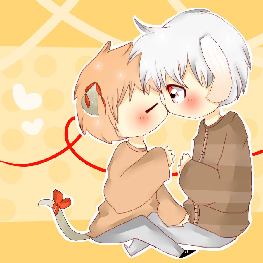 PC - Kumi and Bunny boy by TweekPark
