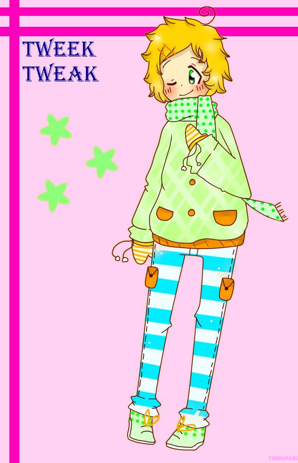 Tweek looks so colorful! by TweekPark