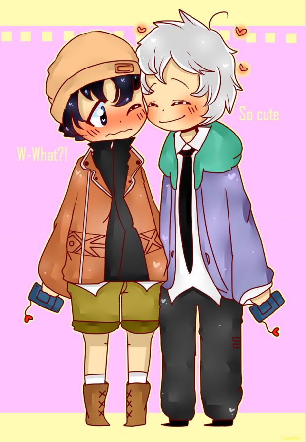 Akise and Yukiteru by TweekPark