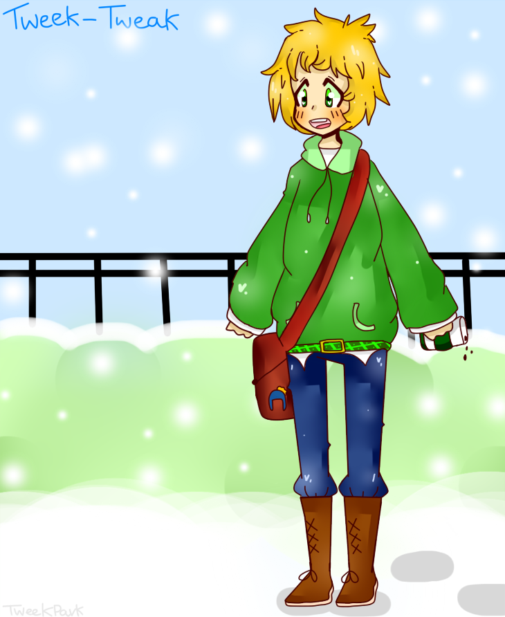 It's cold out by TweekPark