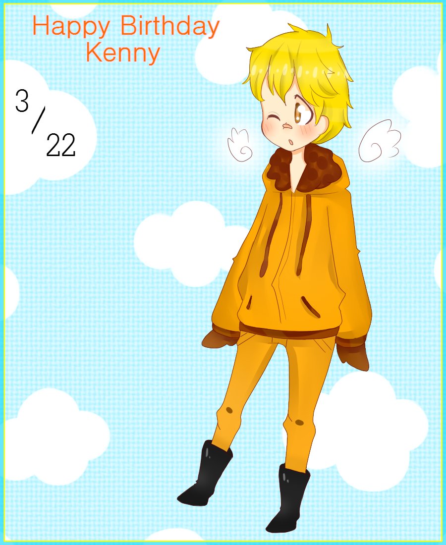 Kenny's Birthday! by TweekPark