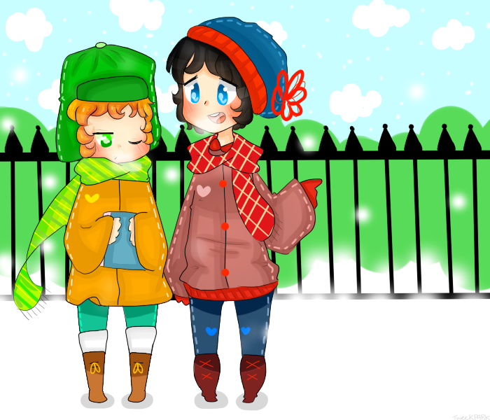 Stan and Kyle - Style by TweekPark