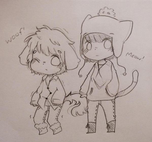 doggy tweek and kitty craig by TweekPark