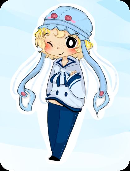 r - Jelly fish boy by TweekPark