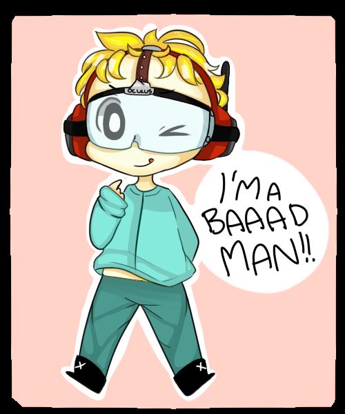 I'm a baaaaddd man! by TweekPark