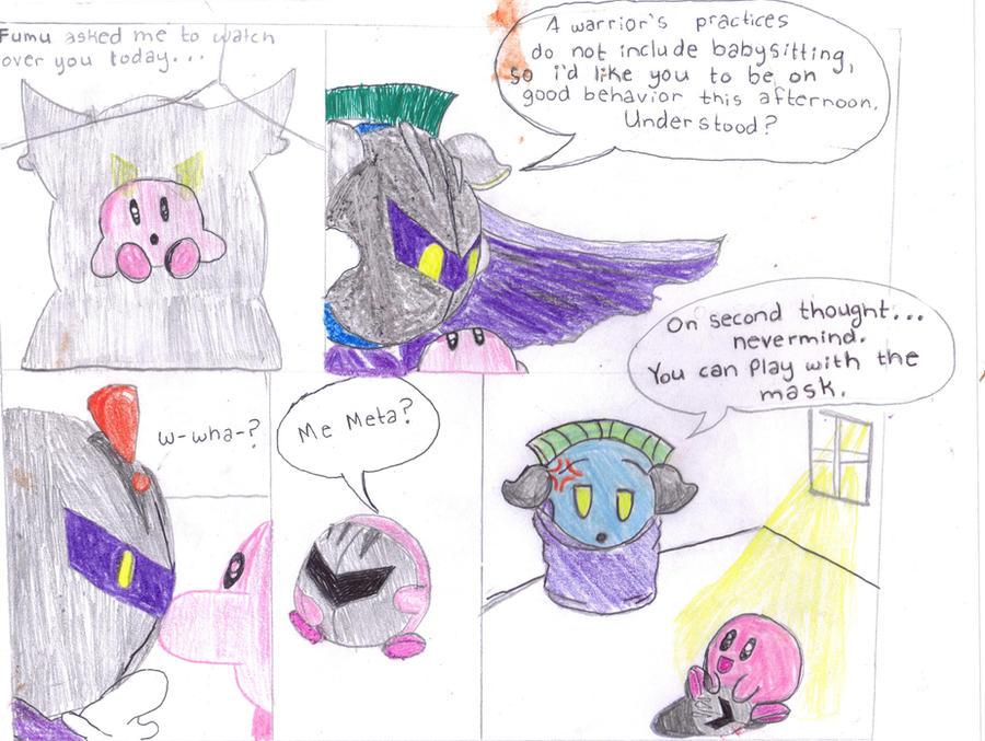 Meta Knight And Kirby Comics New Kirby X Meta Knight Comic
