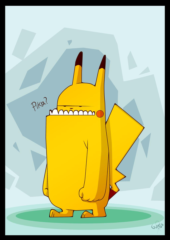 Wild Pikachu by guimero64