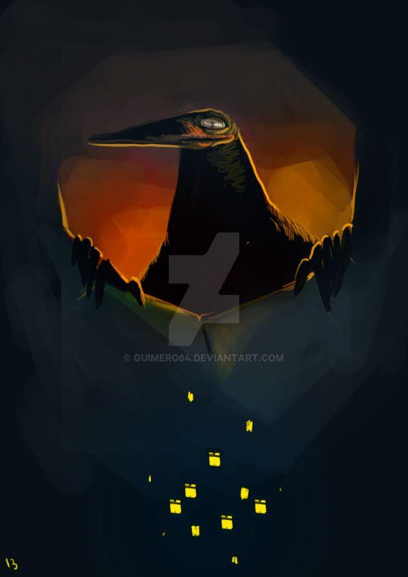 L'oiseau by guimero64