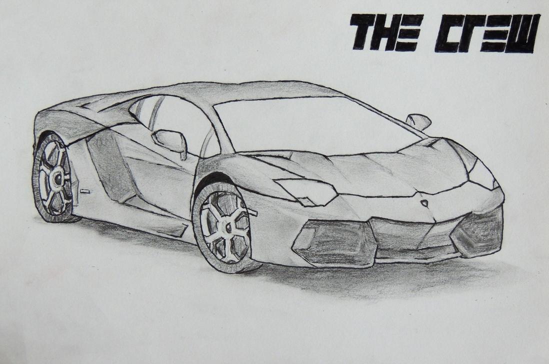 Lamborghini Aventador by Eli-riv on DeviantArt