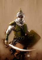 Muslim Army-colored