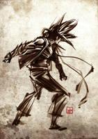 Malay Warrior-001 by zamzami