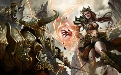 Diablo III - Revenge of The Wizard by zamzami