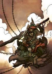 Malay Warrior by zamzami
