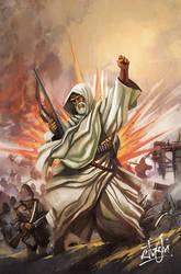 Umar Mukhtar - cover by zamzami