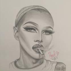 Pearl by kenyascanvas