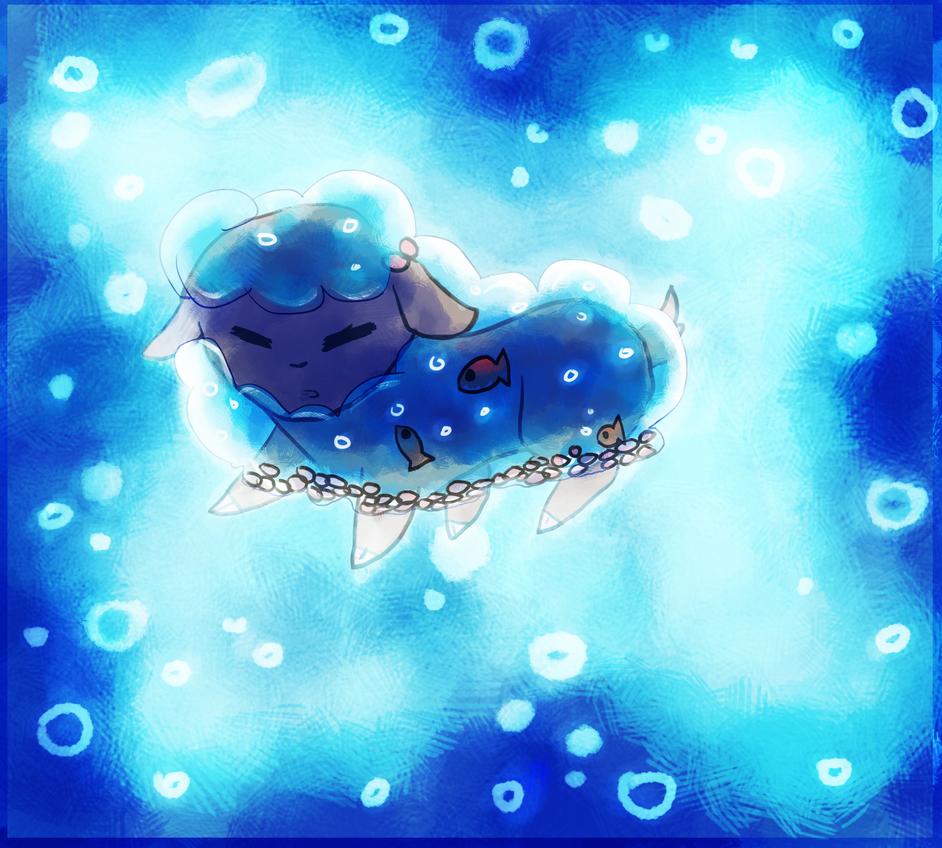 Underwater sheep 6