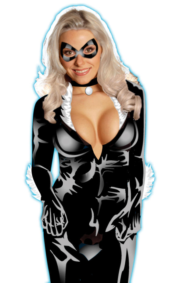 black cat by roberuniverse