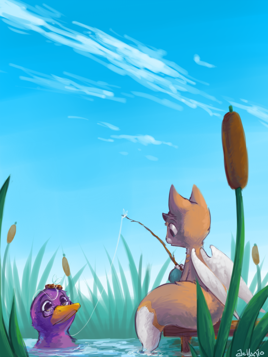 Fishin' by Jelligator