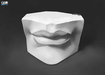 Mouth Cast Study + Free Tutorial by GeoArtRef