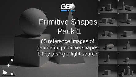 Primitive Shapes Pack 1 by GeoArtRef