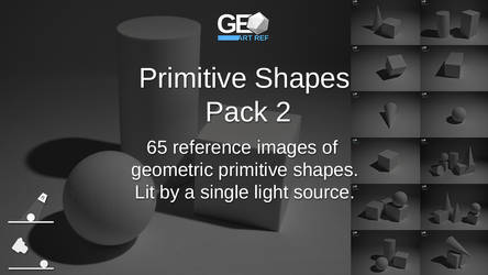 Primitive Shapes Pack 2 by GeoArtRef