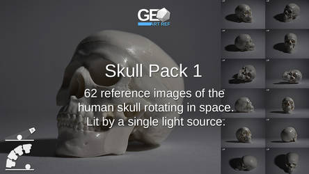 Skull Pack 1 by GeoArtRef