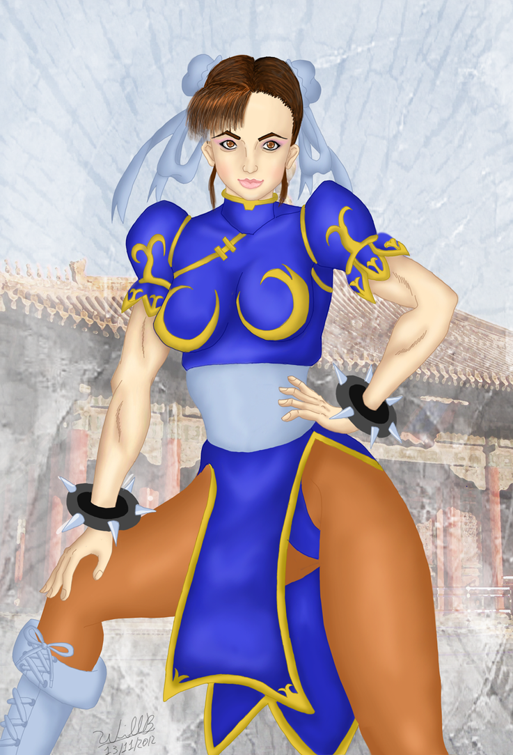 Chun-li 5 by williansb