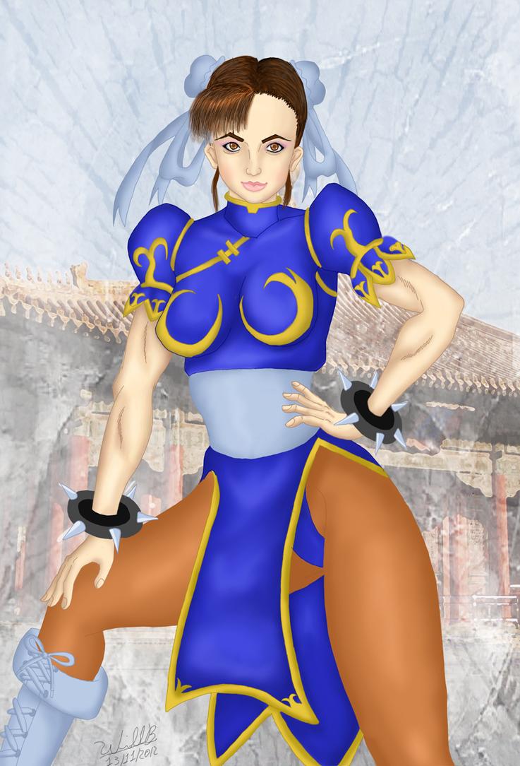 Chun-li 5 by williansb