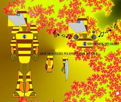 TNT-Bee -REMAKE by mauricebarkley