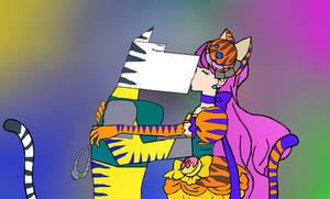 Kissing Felines
