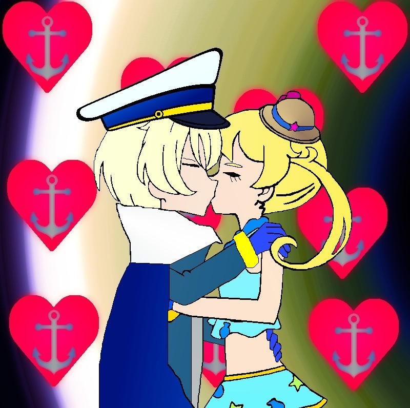Ayumi and Emo Kiss