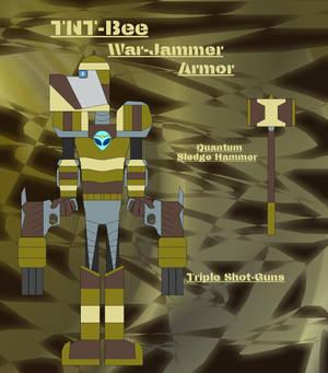 TNT-Bee - War-Jammer Armor